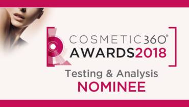AOP nominated for its innovative LUCS technology at COSMETIC360